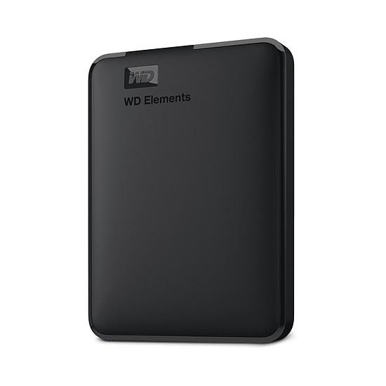 Disque dur externe Western Digital (WD) Elements Portable - 3 To (Noir)
