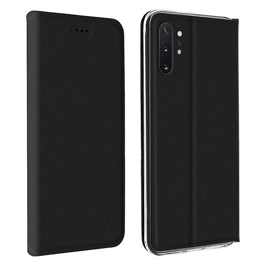 Coque et housse Akashi Etui Folio Porte Carte Noir Samsung Galaxy Note 10