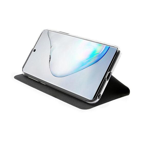 Coque et housse Akashi Etui Folio Porte Carte Noir Samsung Galaxy Note 10 - Autre vue