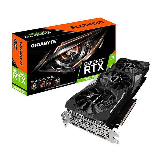 Carte graphique Gigabyte GeForce RTX 2070 SUPER GAMING OC 3X