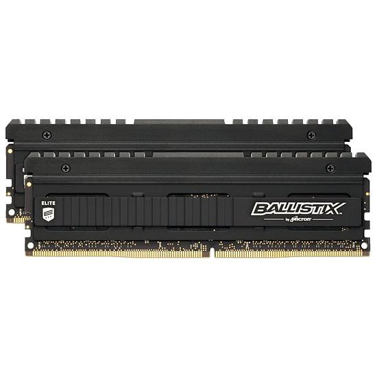 Mémoire Ballistix Elite 8 Go (2 x 4 Go) DDR4 3000 MHz CAS 15