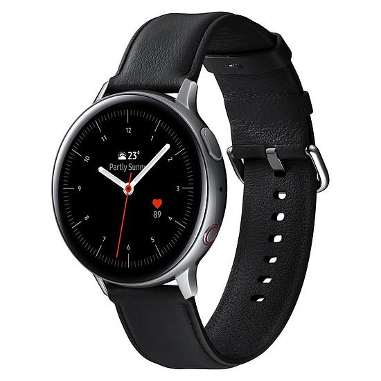 Montre connectée Samsung Galaxy Watch Active 2 4G(Argent Glacier) - GPS - 44 mm