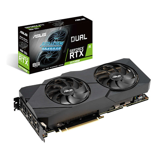 Carte graphique Asus GeForce RTX 2070 SUPER Dual EVO
