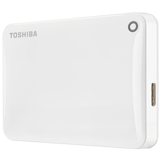 Disque dur externe Toshiba Canvio Connect II 1 To Blanc
