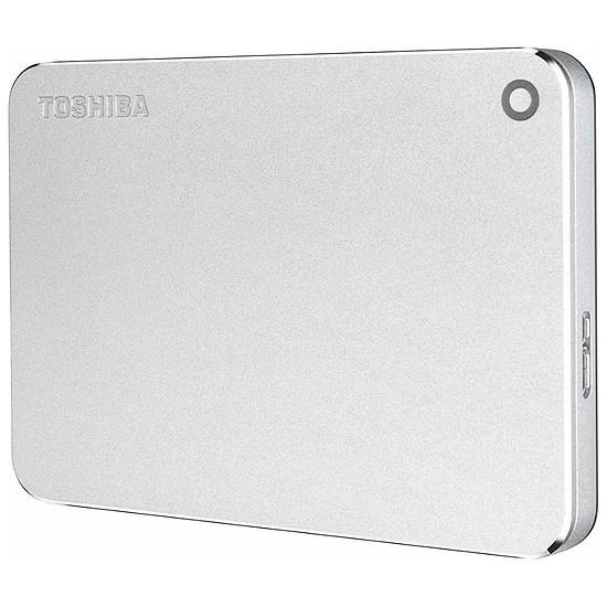 Disque dur externe Toshiba Canvio Premium 4 To Argent