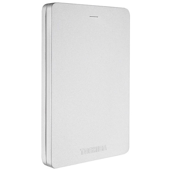 Disque dur externe Toshiba Canvio ALU 1 To Argent