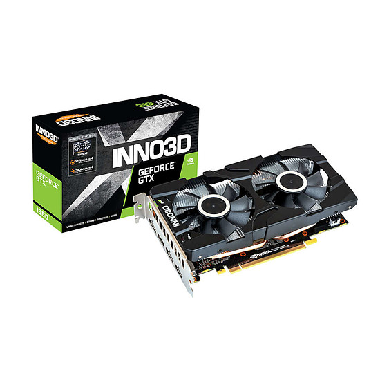 Carte graphique Inno3D GeForce GTX 1660 Twin X2 (1521VA15)