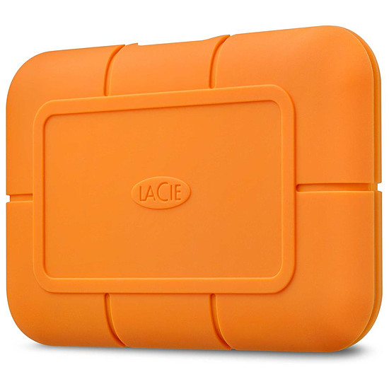 Disque dur externe LaCie Rugged USB-C SSD 2 To