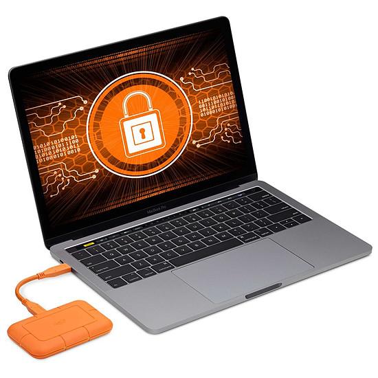 Disque dur externe LaCie Rugged USB-C SSD 500 Go - Autre vue