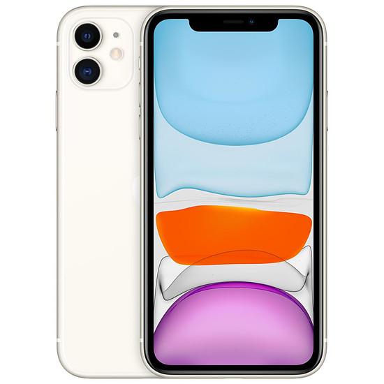 Smartphone et téléphone mobile Apple iPhone 11 (blanc) - 128 Go