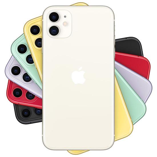 Smartphone et téléphone mobile Apple iPhone 11 (blanc) - 128 Go - Autre vue