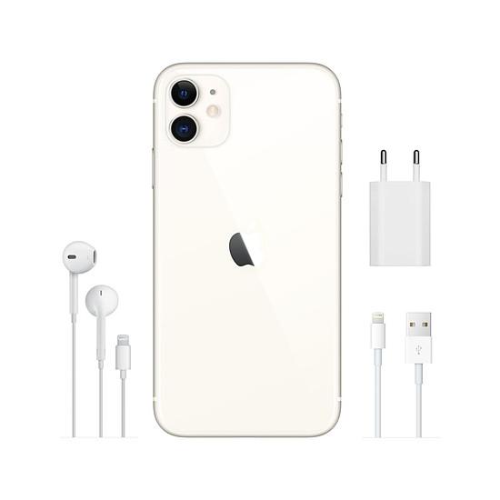 Smartphone et téléphone mobile Apple iPhone 11 (blanc) - 256 Go - Autre vue