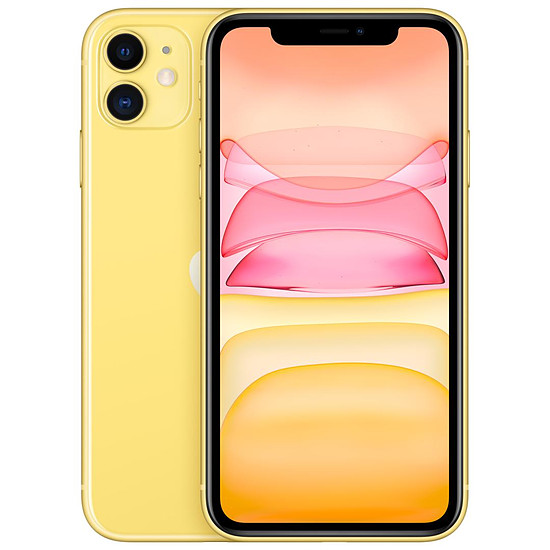 Smartphone et téléphone mobile Apple iPhone 11 (jaune) - 256 Go