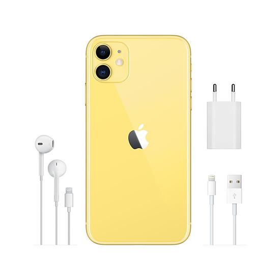 Smartphone et téléphone mobile Apple iPhone 11 (jaune) - 256 Go - Autre vue