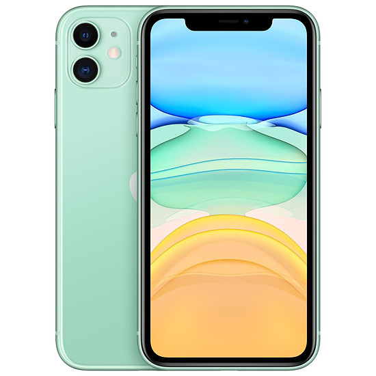 Smartphone et téléphone mobile Apple iPhone 11 (vert) - 64 Go