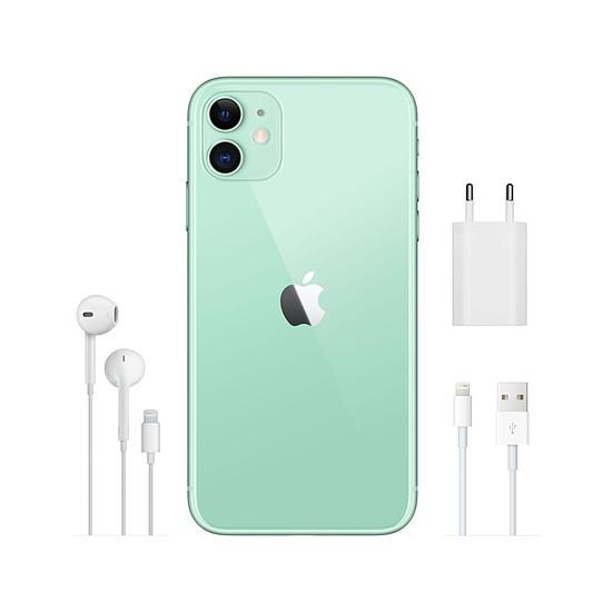 Smartphone et téléphone mobile Apple iPhone 11 (vert) - 128 Go - Autre vue