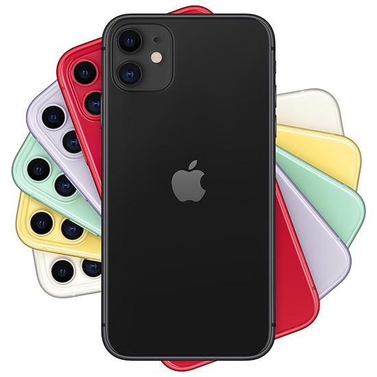 Smartphone et téléphone mobile Apple iPhone 11 (noir) - 64 Go - Autre vue