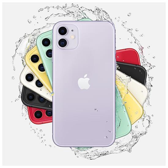 Smartphone et téléphone mobile Apple iPhone 11 (mauve) - 128 Go - Autre vue