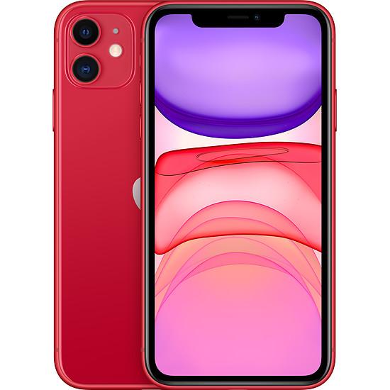 Smartphone et téléphone mobile Apple iPhone 11 (rouge) - 64 Go