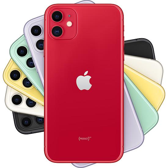 Smartphone et téléphone mobile Apple iPhone 11 (rouge) - 64 Go - Autre vue