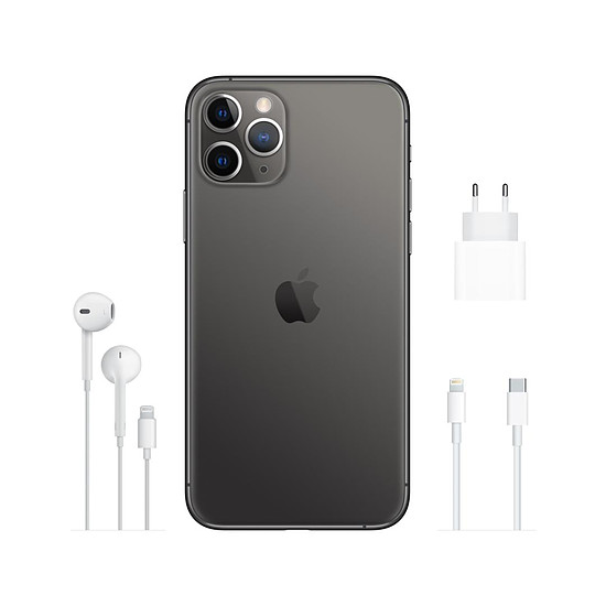 Smartphone et téléphone mobile Apple iPhone 11 Pro (gris) - 64 Go - Autre vue