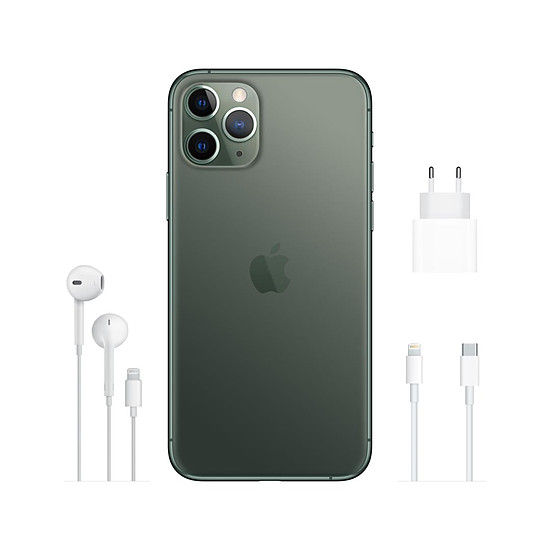 Smartphone et téléphone mobile Apple iPhone 11 Pro (vert) - 512 Go - Autre vue