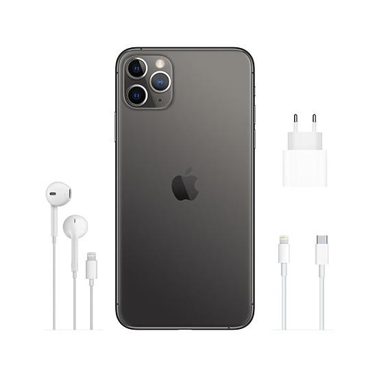 Smartphone et téléphone mobile Apple iPhone 11 Pro Max (gris) - 256 Go - Autre vue