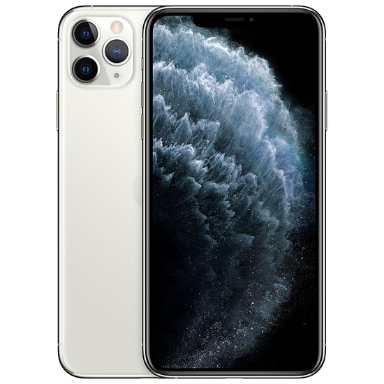 Smartphone et téléphone mobile Apple iPhone 11 Pro Max (argent) - 512 Go