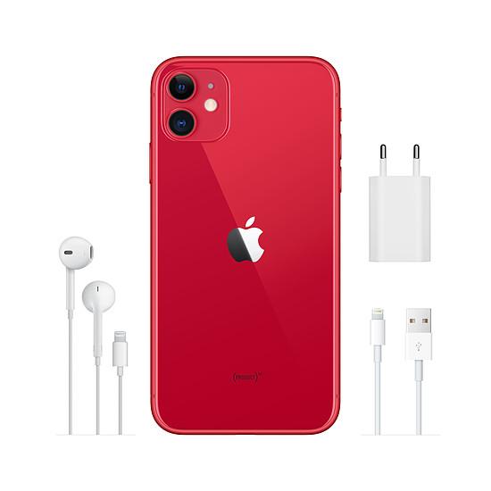 Smartphone et téléphone mobile Apple iPhone 11 (rouge) - 128 Go - Autre vue