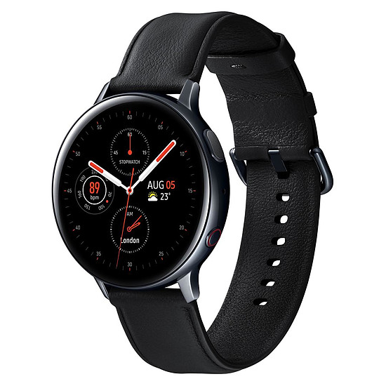 Montre connectée Samsung Galaxy Watch 2 4G (Noir Diamant) - GPS - 44 mm