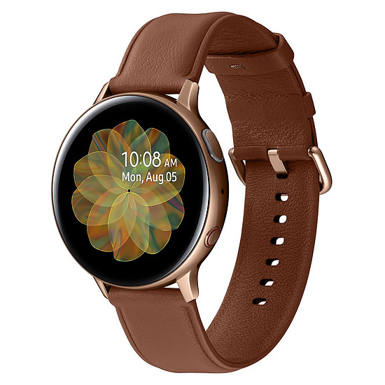 Montre connectée Samsung Galaxy Watch Active 2 4G  (Or) - GPS - 44 mm
