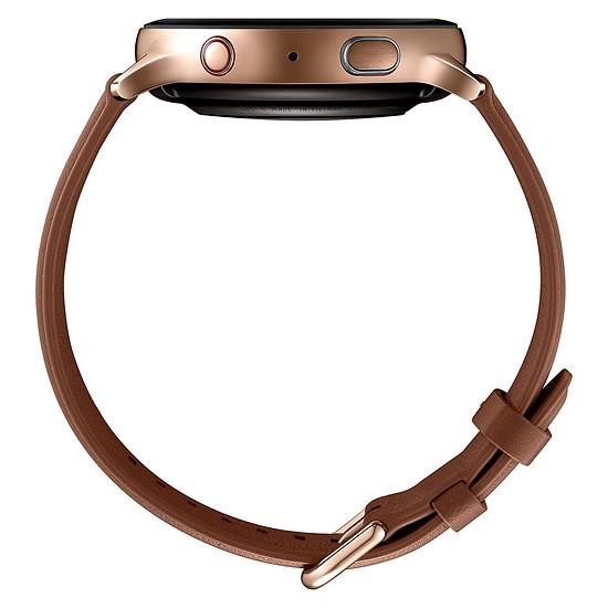Montre connectée Samsung Galaxy Watch Active 2 4G  (Or) - GPS - 44 mm - Autre vue