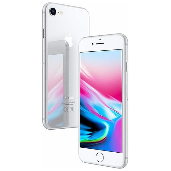 Smartphone et téléphone mobile Apple iPhone 8 (argent) - 128 Go