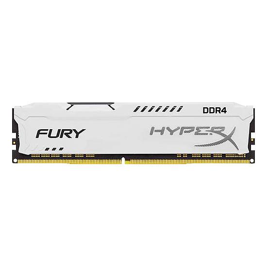 Mémoire HyperX Fury White DDR4 1 x 8 Go 2666 MHz CAS 16