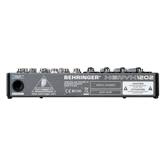 Table de mixage Behringer Xenyx 1202 - Autre vue