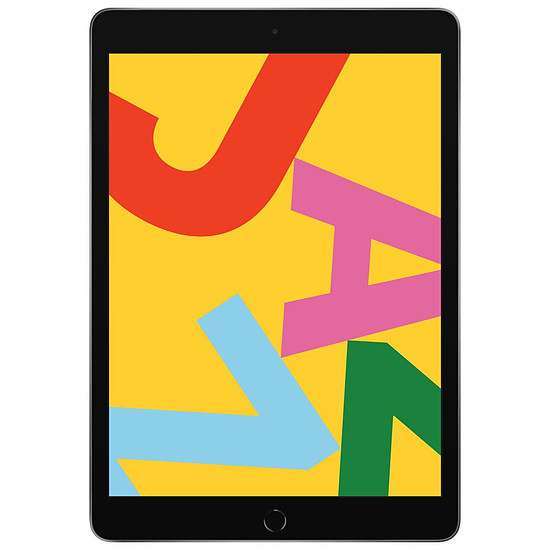Tablette Apple iPad Wi-Fi 10.2 - 128 Go - Gris (7 ème génération)