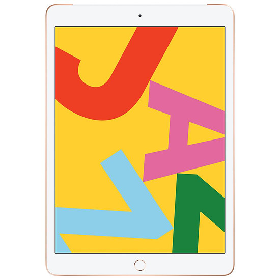 Tablette Apple iPad Wi-Fi + Cellular 10.2 - 128 Go - Or (7 ème génération)