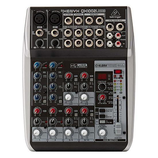 Table de mixage Behringer Xenyx Q1002USB - Autre vue