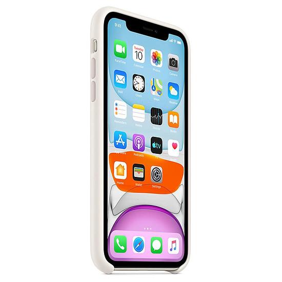 Coque et housse Apple Coque en silicone (blanc) - iPhone 11 - Autre vue