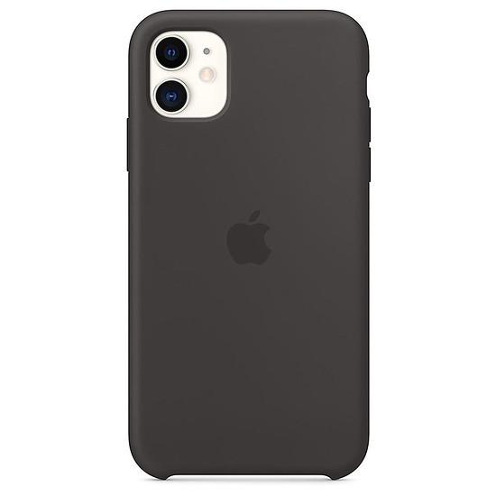 Coque et housse Apple Coque en silicone (noir) - iPhone 11