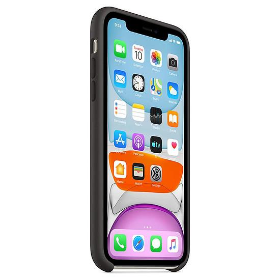 Coque et housse Apple Coque en silicone (noir) - iPhone 11 - Autre vue
