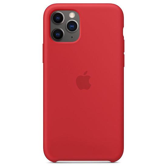 Coque et housse Apple Coque en silicone (rouge) - iPhone 11 Pro