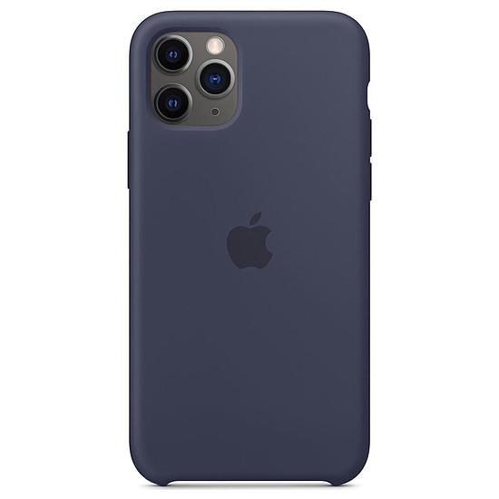 Coque et housse Apple Coque en silicone (bleu nuit) - iPhone 11 Pro