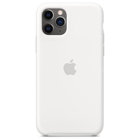 Coque et housse Apple Coque en silicone (blanc) - iPhone 11 Pro