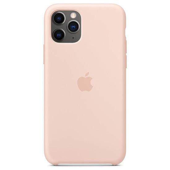 Coque et housse Apple Coque en silicone (rose des sables) - iPhone 11 Pro