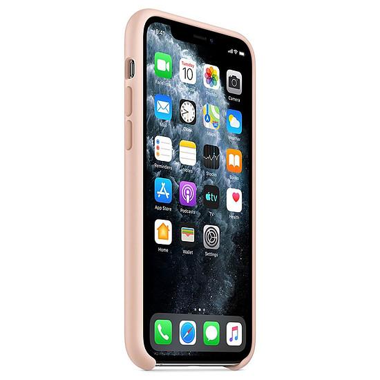 Coque et housse Apple Coque en silicone (rose des sables) - iPhone 11 Pro - Autre vue