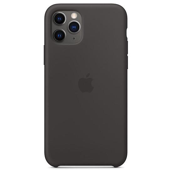 Coque et housse Apple Coque en silicone (noir) - iPhone 11 Pro