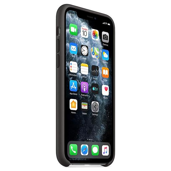 Coque et housse Apple Coque en silicone (noir) - iPhone 11 Pro - Autre vue