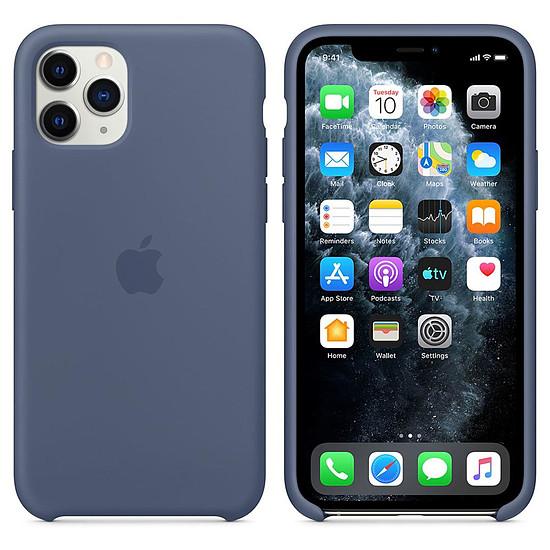 Coque et housse Apple Coque en silicone (bleu d'Alaska) - iPhone 11 Pro - Autre vue