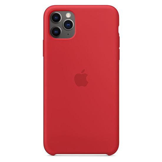 Coque et housse Apple Coque en silicone (rouge) - iPhone 11 Pro Max